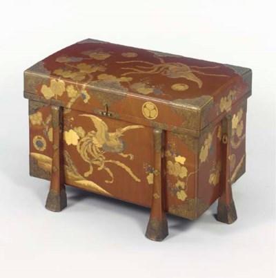 A Large Lacquer Trunk