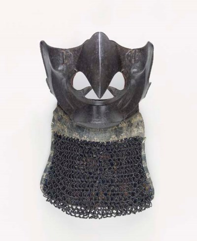 An Iron Half-Mask formed as a