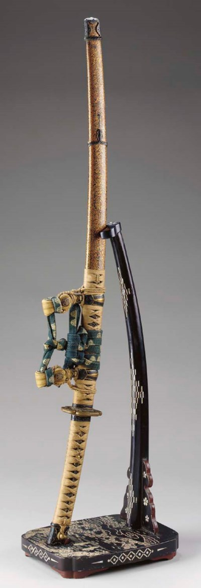 A Mounted Slung Blade (Tachi)