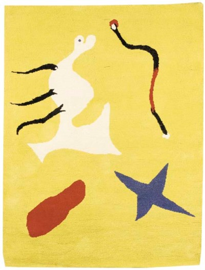 After a Design by Joan Miro (1