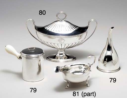A GEORGE II SILVER SAUCEBOAT,*