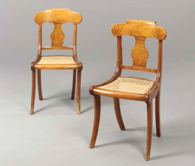 A PAIR OF CLASSICAL LATE FEDER