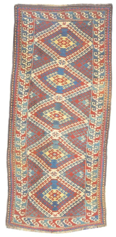 A KAZAK LONG RUG,