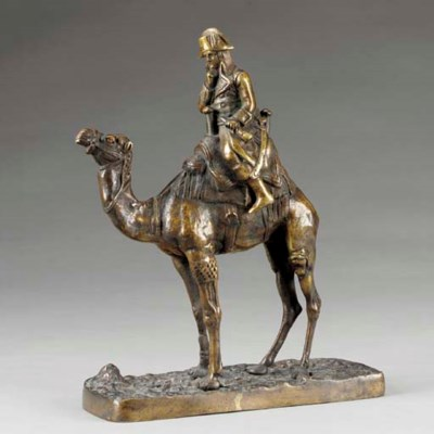 A French bronze figure of youn