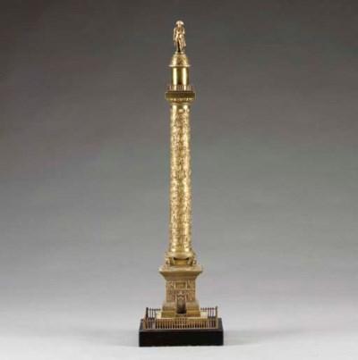 A bronze model of Napoleon's c