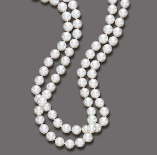 A DOUBLE-STRAND CULTURED PEARL