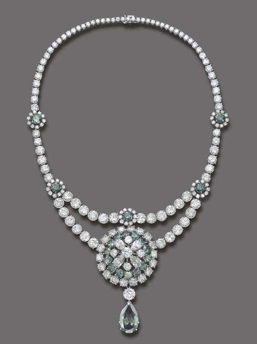 AN IMPRESSIVE DIAMOND AND TREA