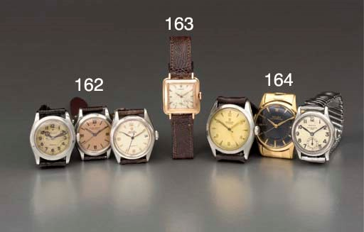 Rolex. A lot of three wristwat