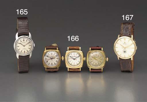 Rolex. A 14K gold wristwatch w