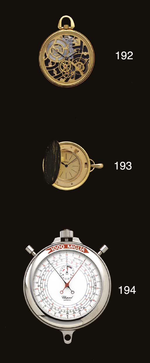 Chopard. An oversized limited