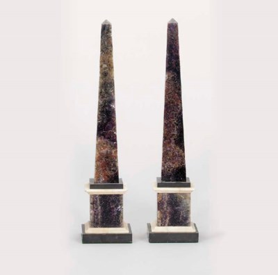 A PAIR OF ENGLISH BLUEJOHN OBE