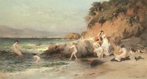 Frederick Arthur Bridgman (American/French, 1847-1928)