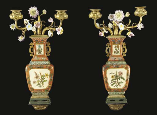 A pair of American Chinoiserie