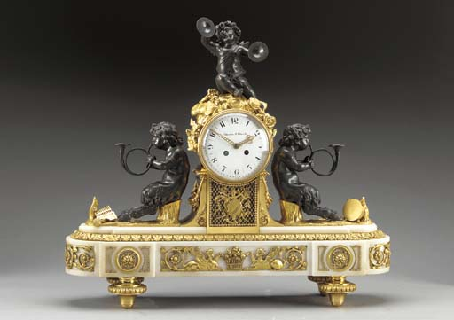 A Louis XVI style ormolu, pati