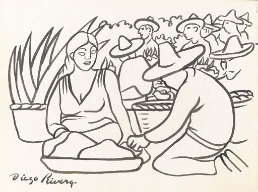 Diego Rivera (Mexican 1886-1957)