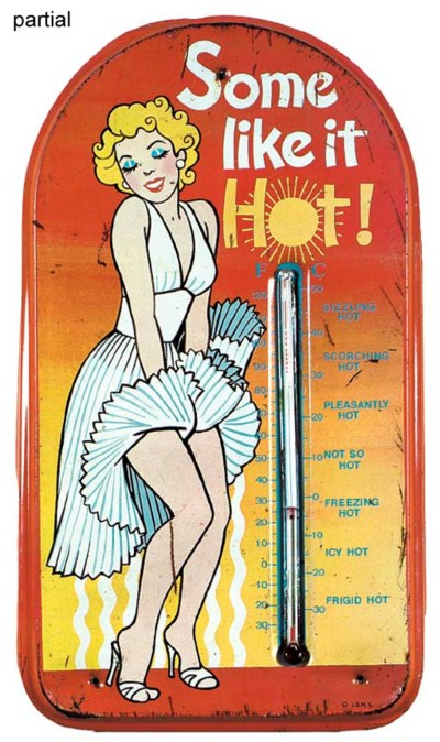 MARILYN MONROE THERMOMETERS