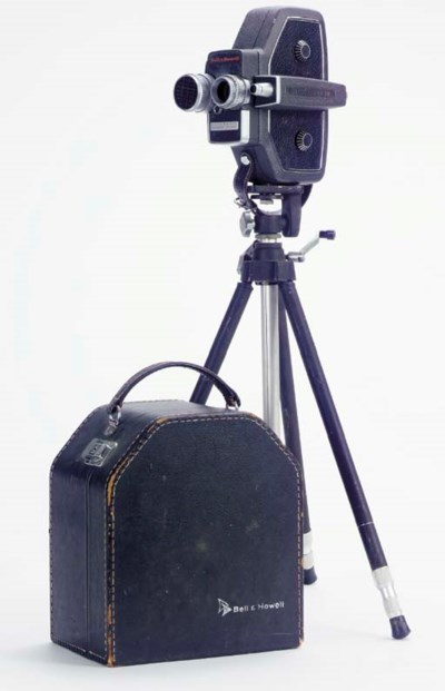 CLARK GABLE 16MM MOVIE CAMERA