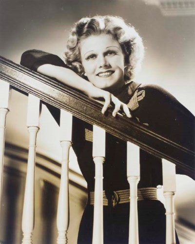 JEAN HARLOW PHOTOGRAPH BY TED