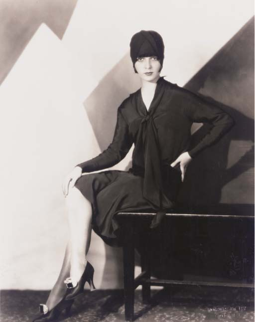 LOUISE BROOKS PHOTOGRAPH BY HO
