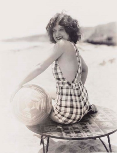 CLARA BOW PHOTOGRAPH BY OTTO D
