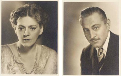 ETHEL AND JOHN BARRYMORE PHOTO