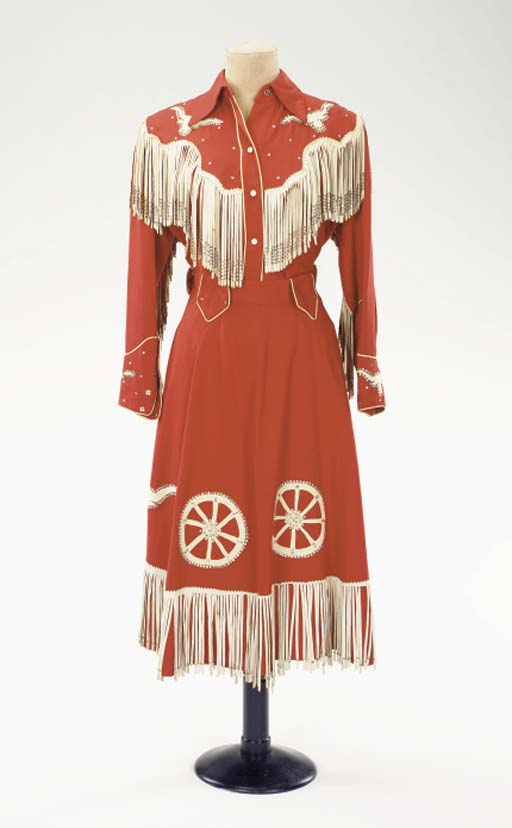 PATSY CLINE 'RED COWGIRL' ENSEMBLE