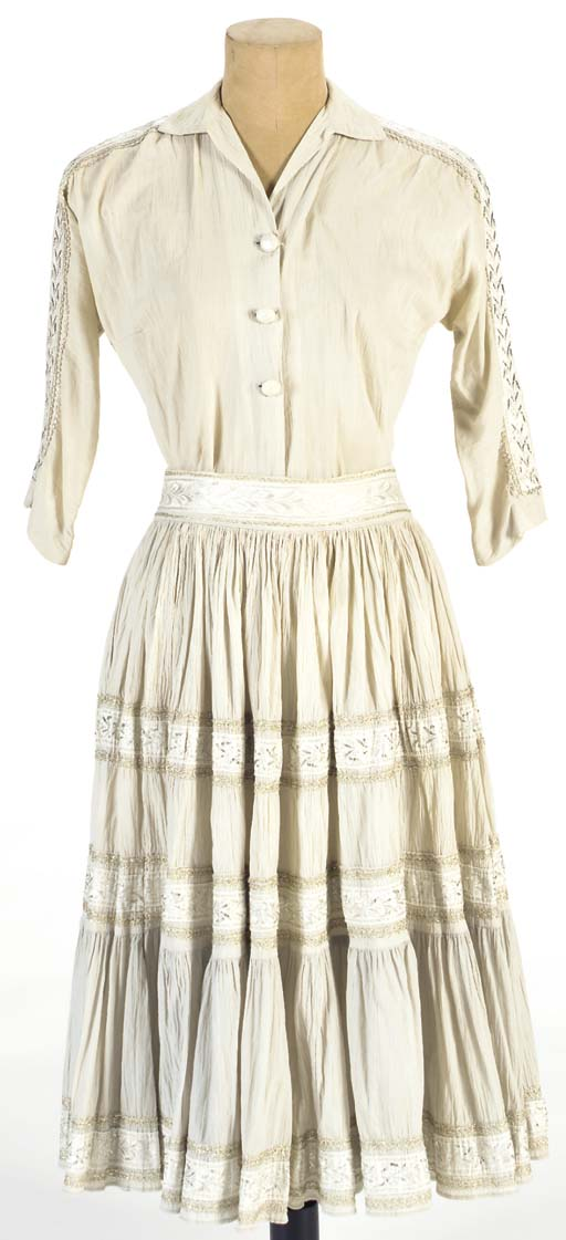 PATSY CLINE BLOUSE AND SKIRT E