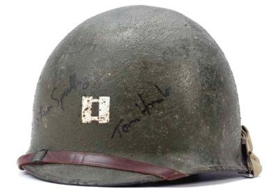 TOM HANKS HELMET SIGNED BY HIM