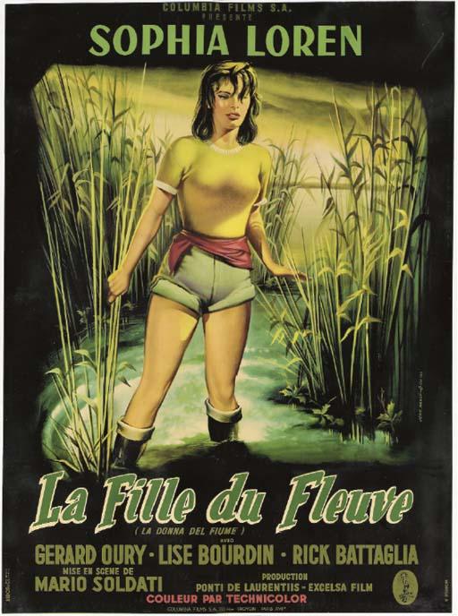 WOMAN OF THE RIVER (LA FILLE D