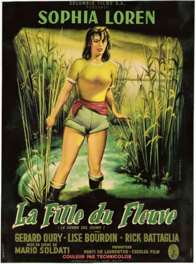 WOMAN OF THE RIVER (LA FILLE D