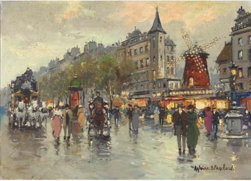 Antoine Blanchard (French, 191