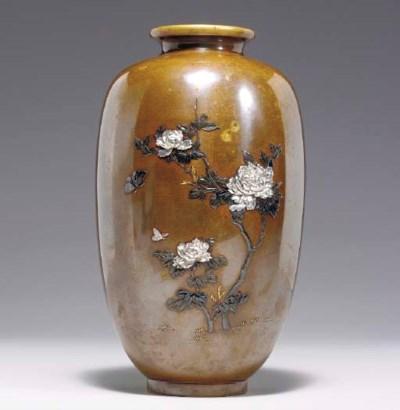 A Mixed-Metal Vase