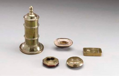 A GROUP OF CONTINENTAL BRASS S