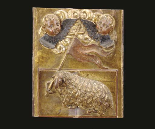 AN ITALIAN RELIEF-CARVED PARCE