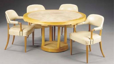 A FRUITWOOD GAMES TABLE WITH F