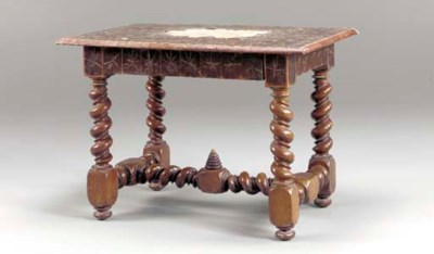 A PORTUGUESE OYSTER VENEER AND