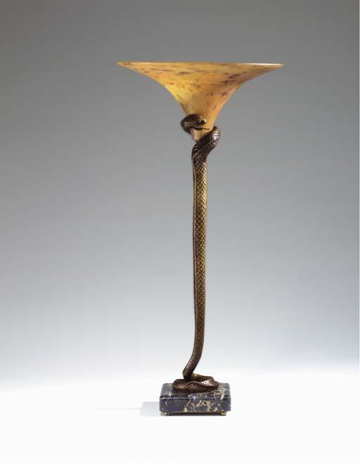 'LA TENTATION', A BRONZE, GLAS