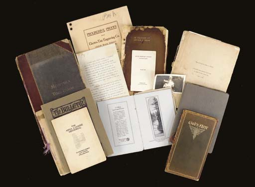 A LARGE GROUP OF DOCUMENTS, CO