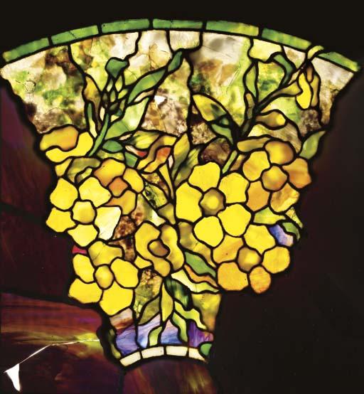 AN 'ALAMANDER' LEADED GLASS SA