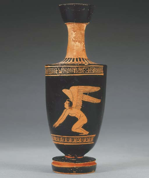 AN ATTIC RED-FIGURED LEKYTHOS