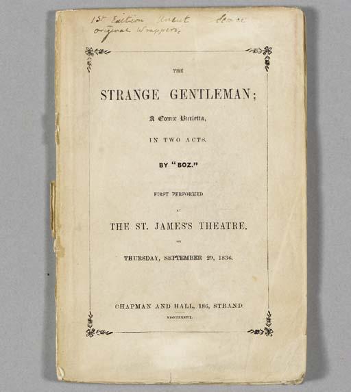 [DICKENS, Charles]. The Strang
