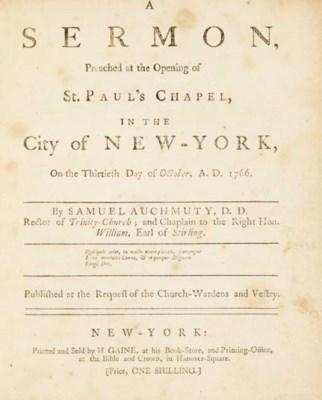 AUCHMUTY, Samuel (1722-1777).