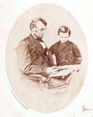 LINCOLN, Abraham. BRADY, Matth