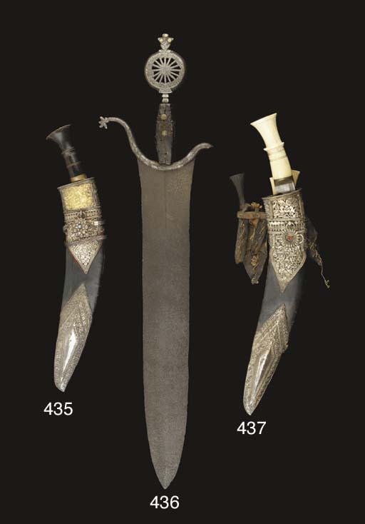A NEPALESE KUKRI