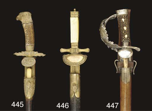 A GERMAN HUNTING SWORD