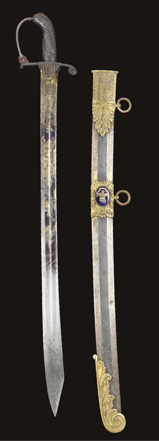 AN ENGLISH PRESENTATION SABRE