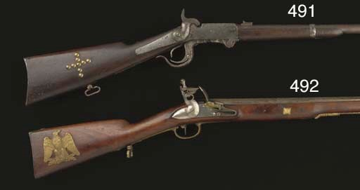 A .54 BURNSIDE MODEL OF 1864 B
