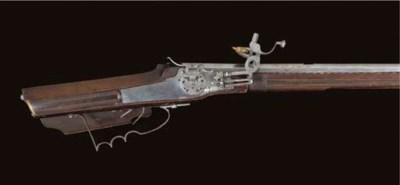 A .55 VIENNESE WHEEL-LOCK SPOR