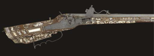 A .57 GERMAN WHEEL-LOCK SPORTI