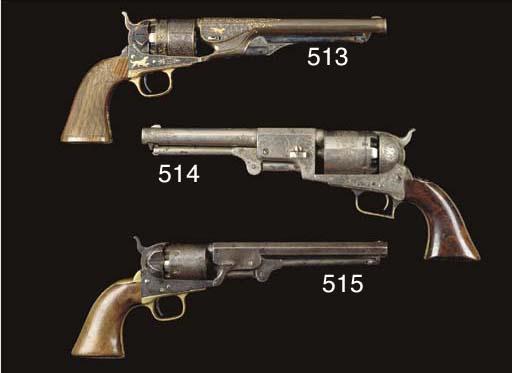 A .44 COLT 2ND MODEL DRAGOON P